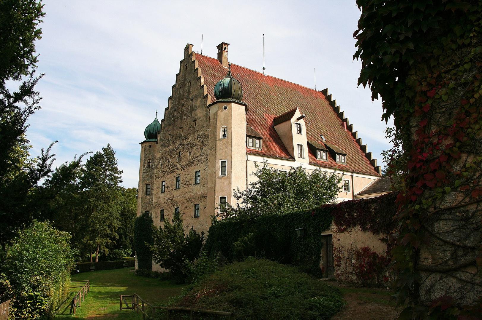 Schloß Eggersberg im Altmühltal