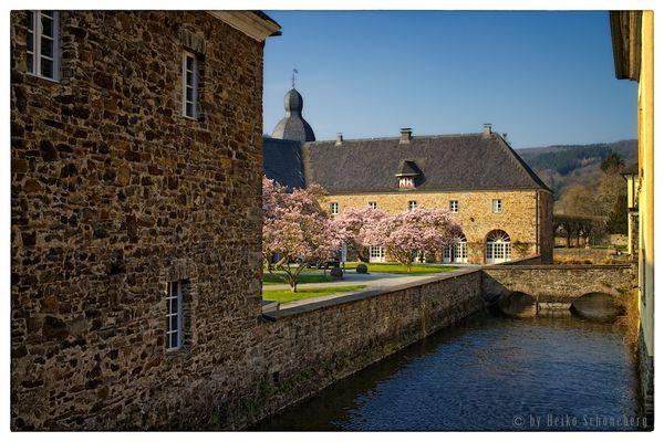 Schloss Ehreshoven im Frühling