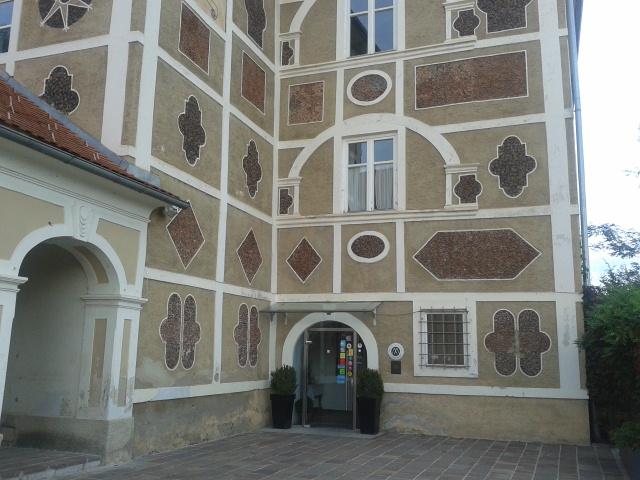 Schloss Farrach, Zeltweg, Teilansicht