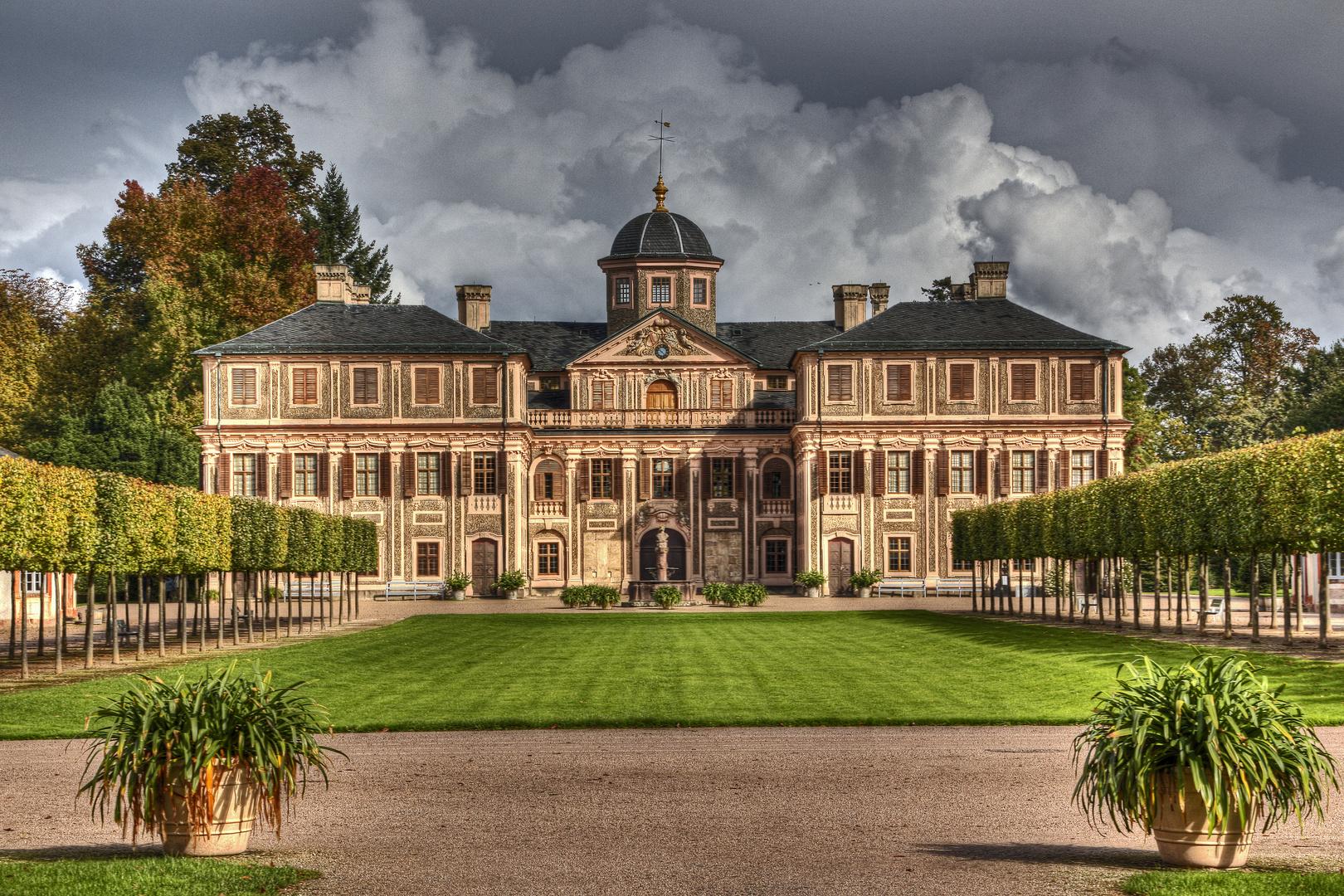 Schloss Favorite Rastatt Vorderansicht