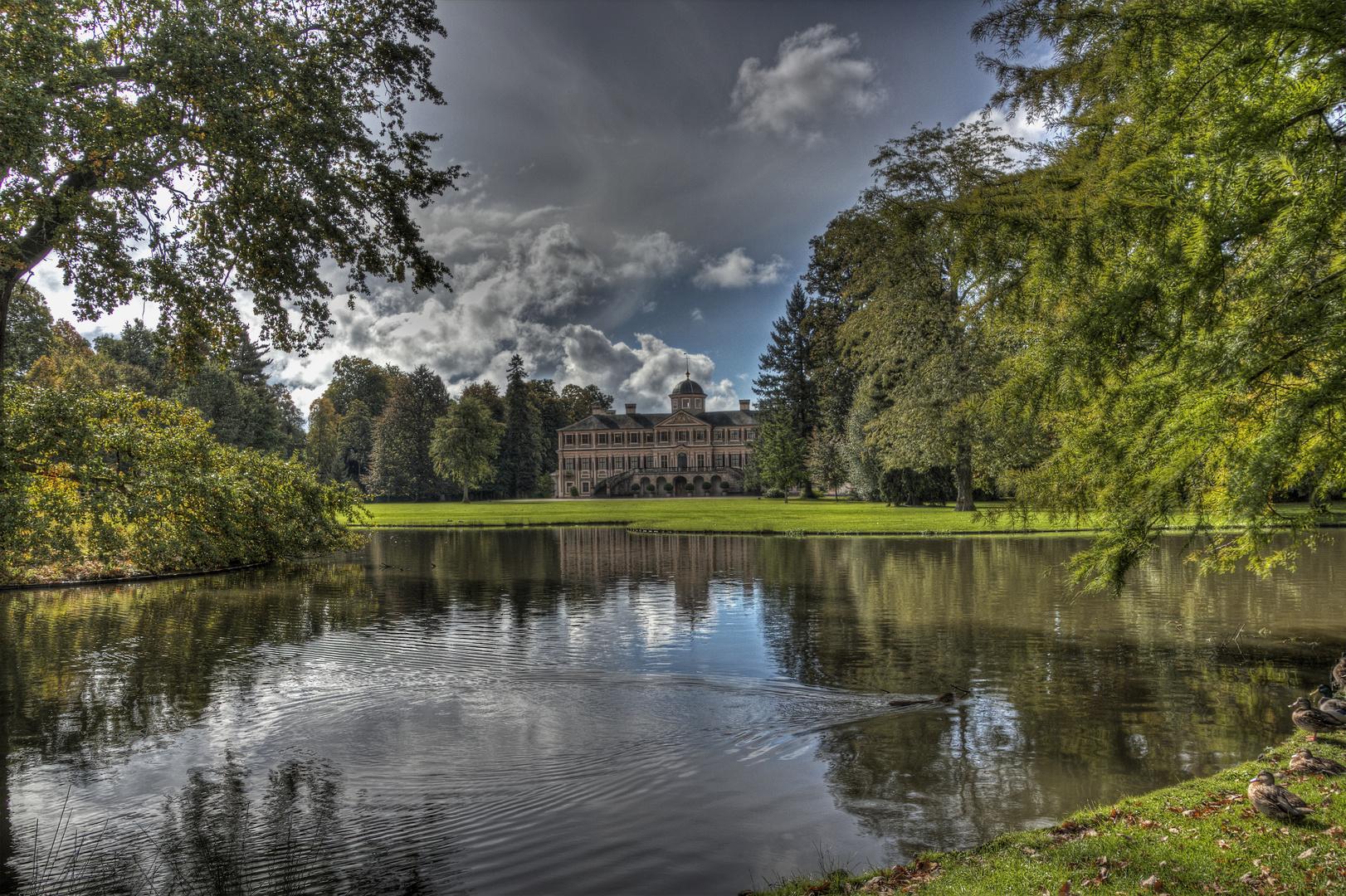 Schloss Favorite Rückansicht