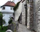 Schloss Füssen-----------Detail--------Burgmauern