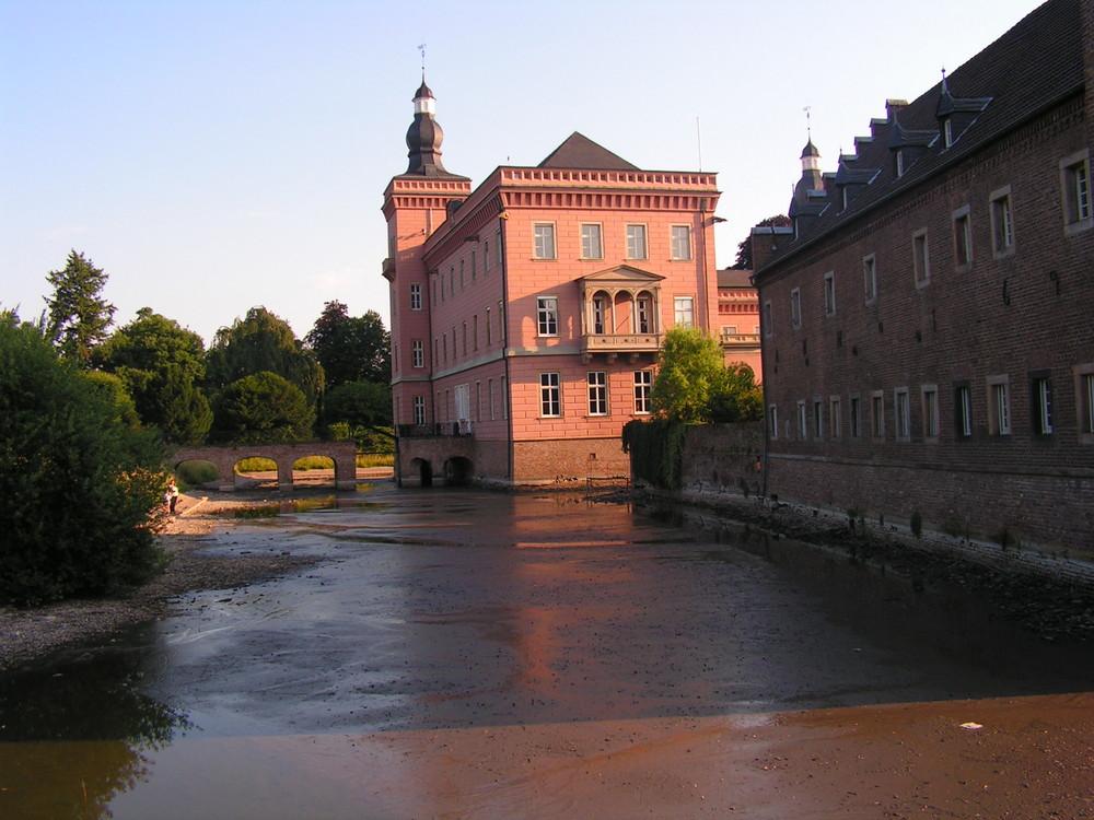 """Schloss Gracht """"bei Ebbe"""""""