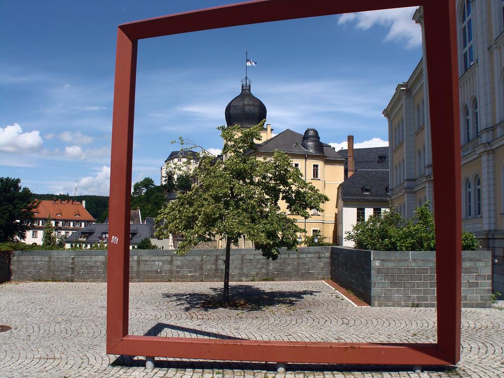 """Schloss Greiz-------- """" alles im Rahmen """""""