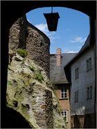 Schloss Greiz...., es geht eng zu im Ober Schloss