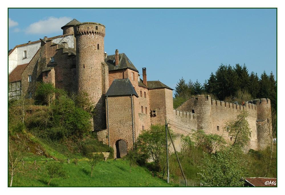 Schloss Hamm in der Eifel...