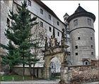 Schloss Hartenfels in Torgau als HDR