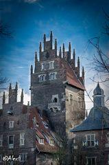 Schloss Heessen in Farbe