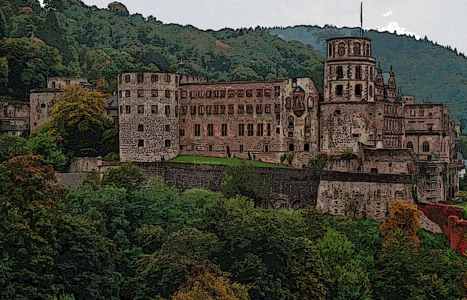 """""""Schloss Heidelberg"""""""