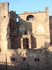 Schloss Heidelberg _Innenhof