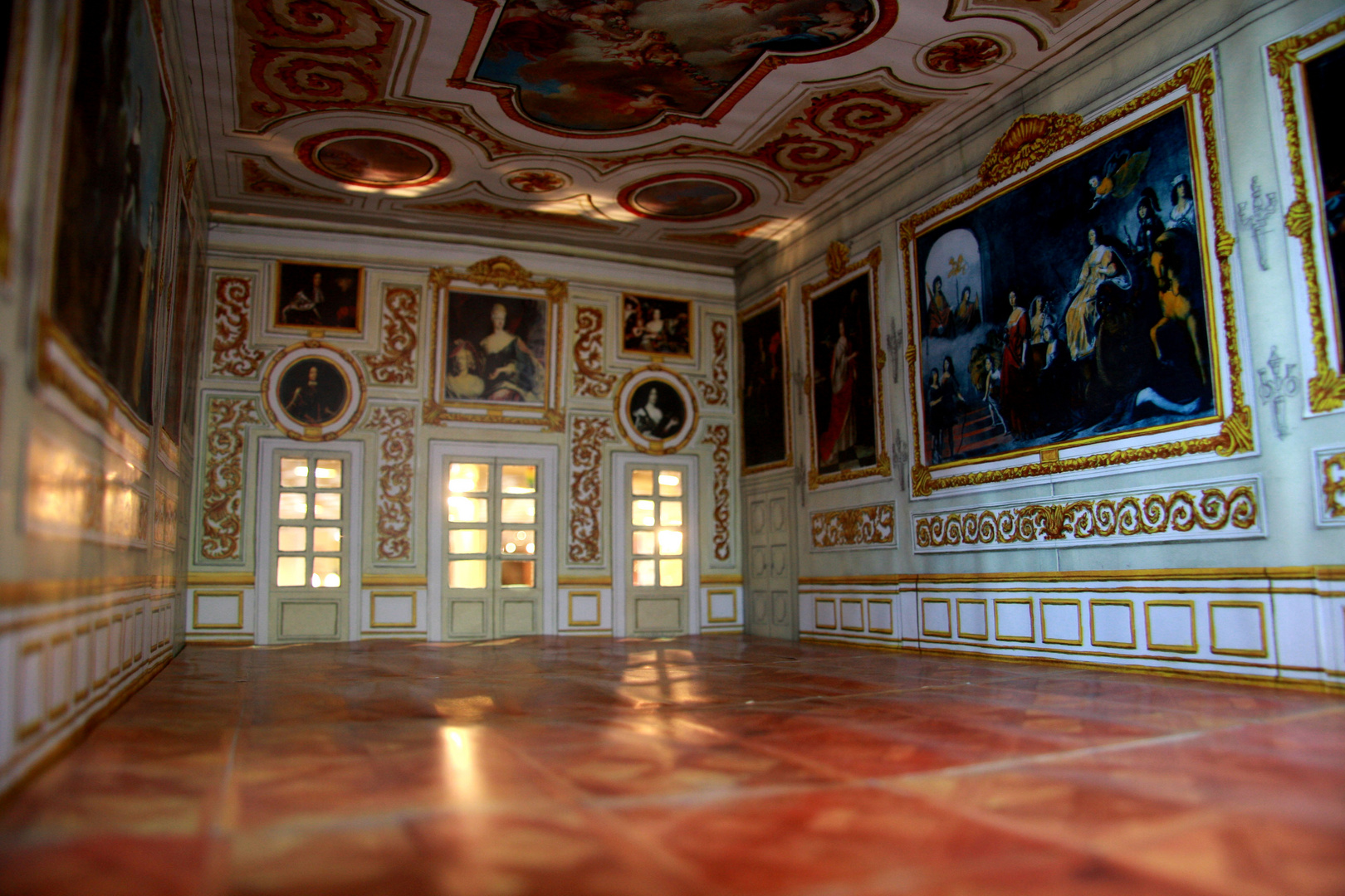 Schloss Herrenhausen, Inneres, Prunksaal