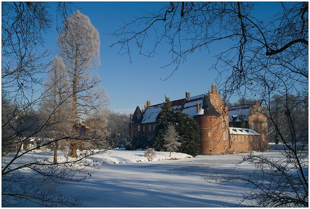 Schloss Herten im Winter
