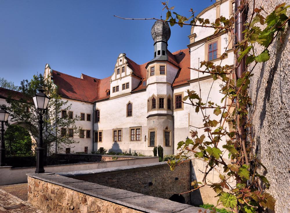 Schloss Hinterglauchau.