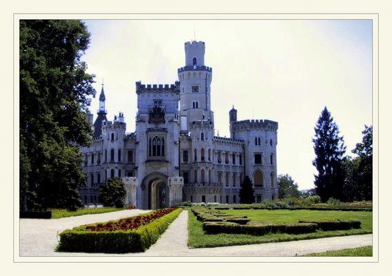 Schloss Hluboká (deutsch Schloss Frauenberg)