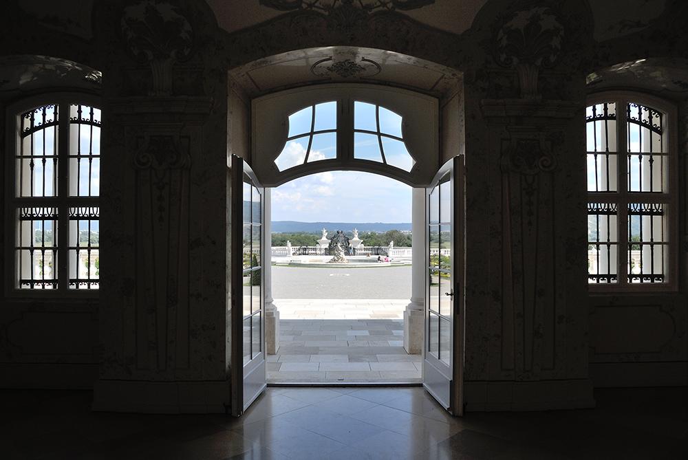 Schloss Hof – Blick in den Garten