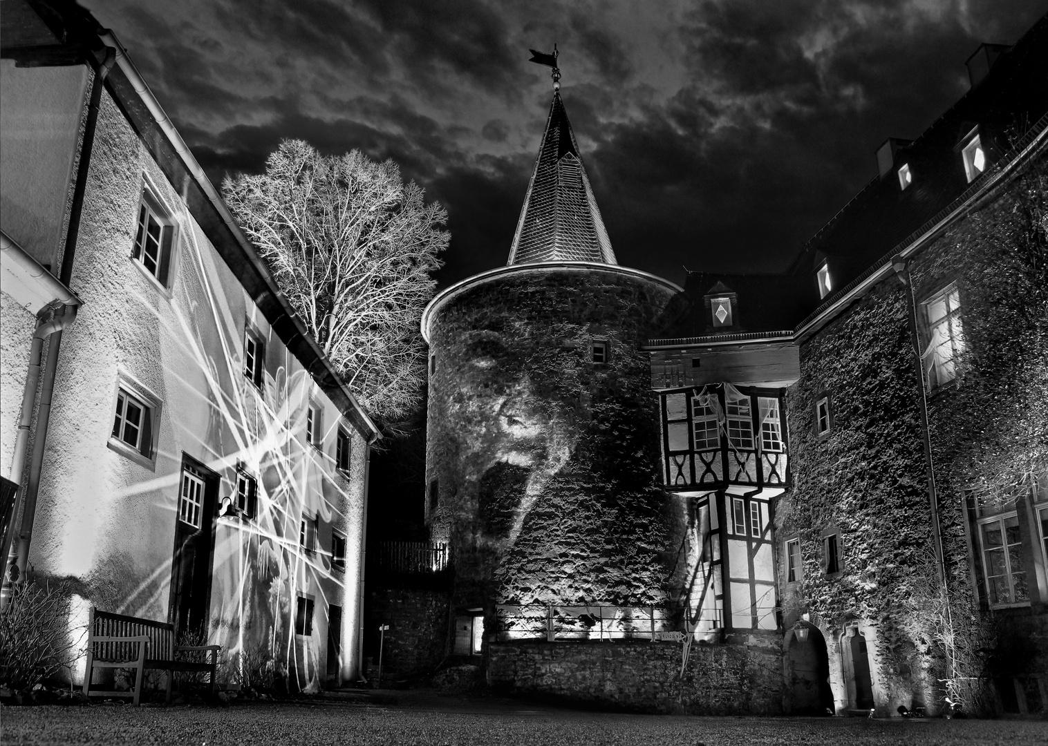 """Schloss Hohenlimburg Lichtspiele 2012 """"Geisterschloss"""""""