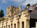 Schloss Hohenschwangau------------die Zinnen von Hohenschwangau