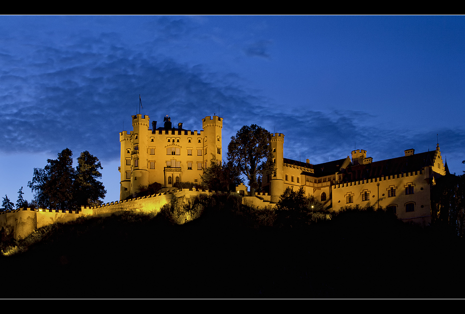 Schloss Hohenschwangau@night III