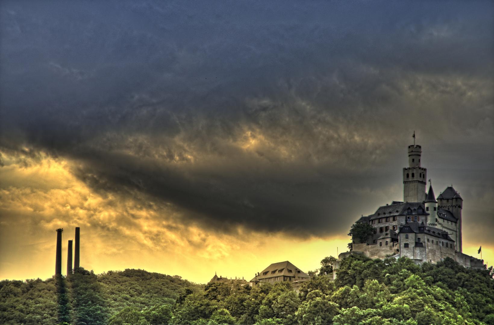 Schloss im Rheingau