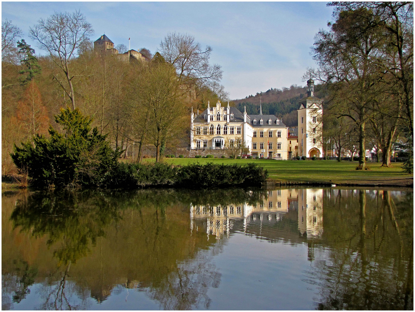 Schloss in Bendorf-Sayn/Rhein