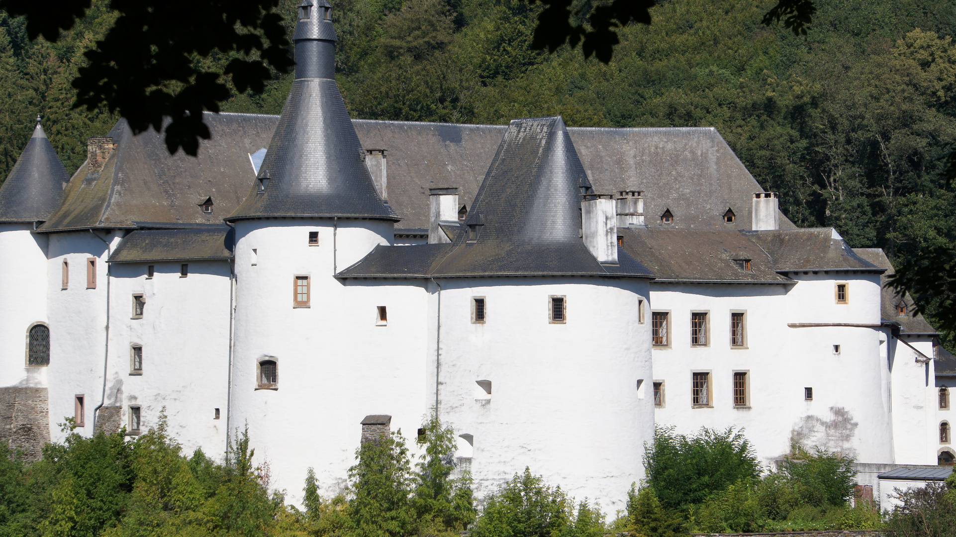Schloss in Clervaux(Luxemburg)