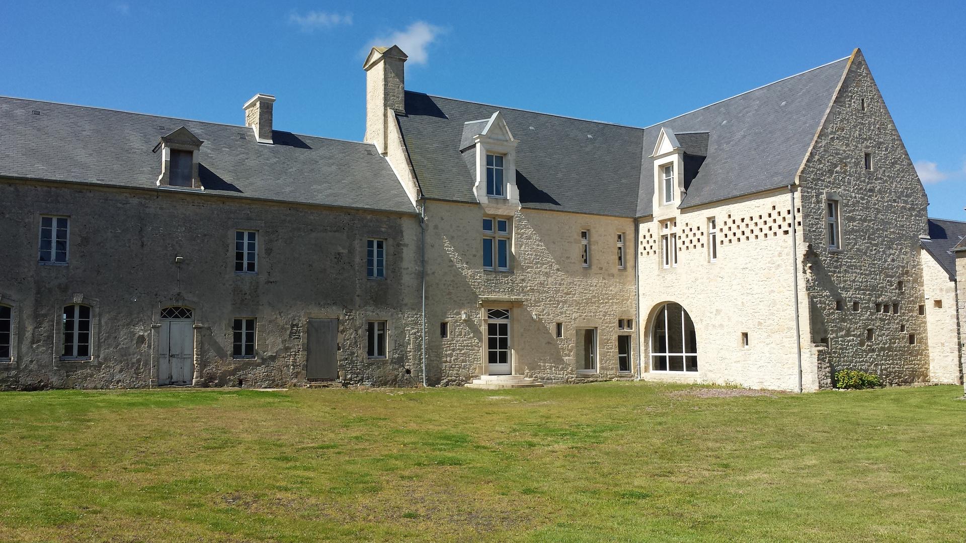 Schloss in der Normandie