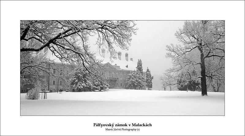 Schloß in Malacky (Slovakia)