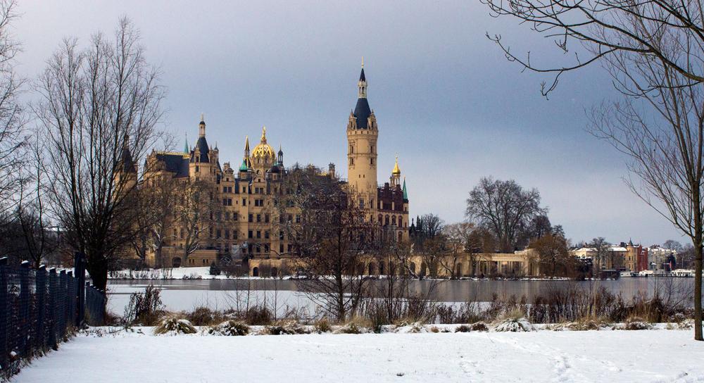 Schloss in Schwerin die II.