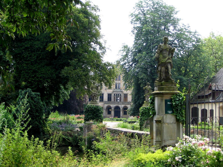 Schloß Ippenburg bei Bad Essen - Wilde Schönheit