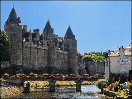 Schloss Josselin, Fluss-Seite