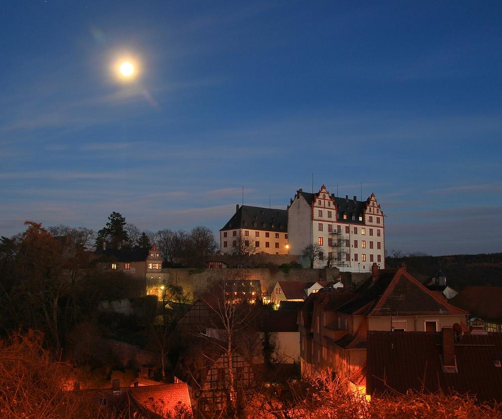 Schloss Lichtenberg am Abend