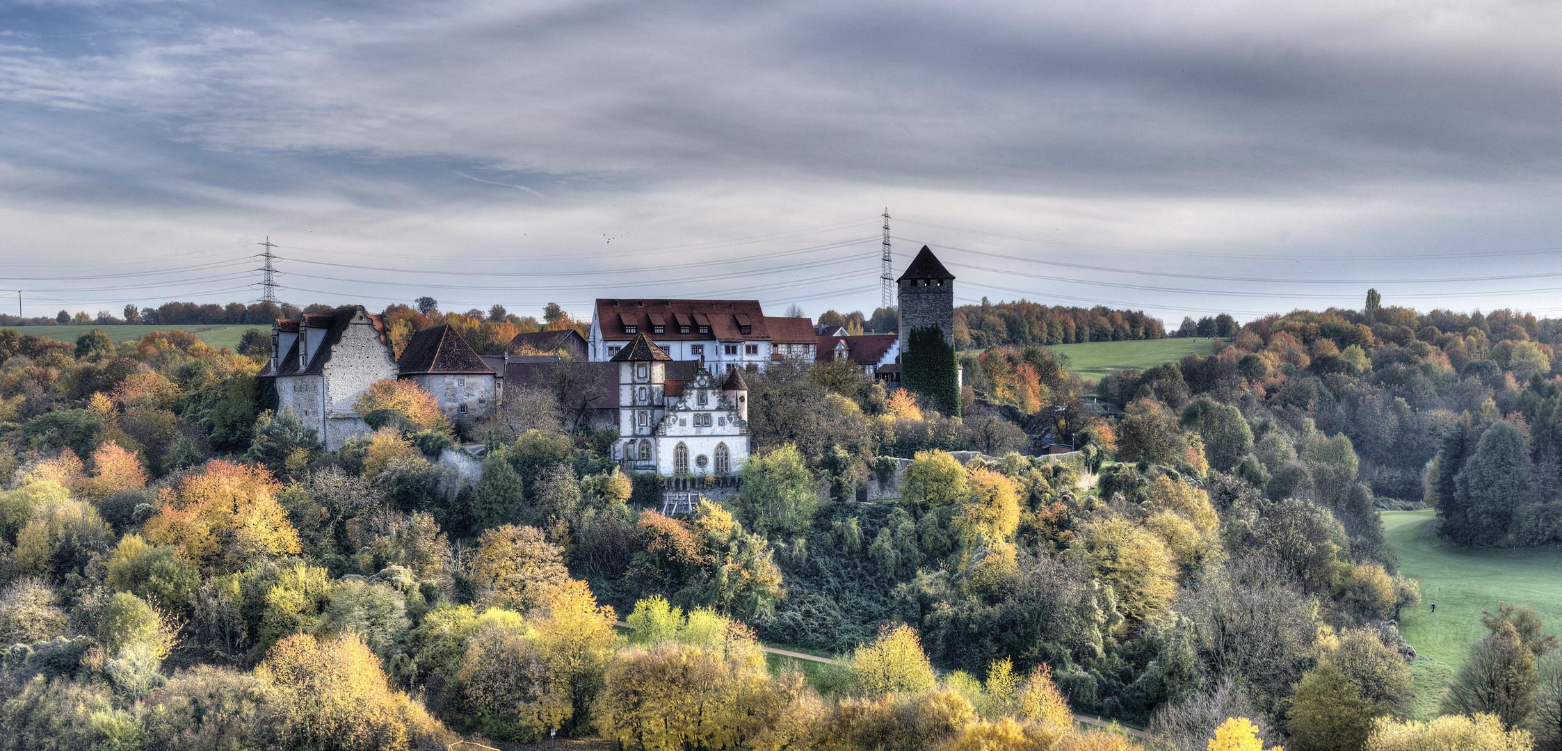Schloss Liebenstein mal im Herbst