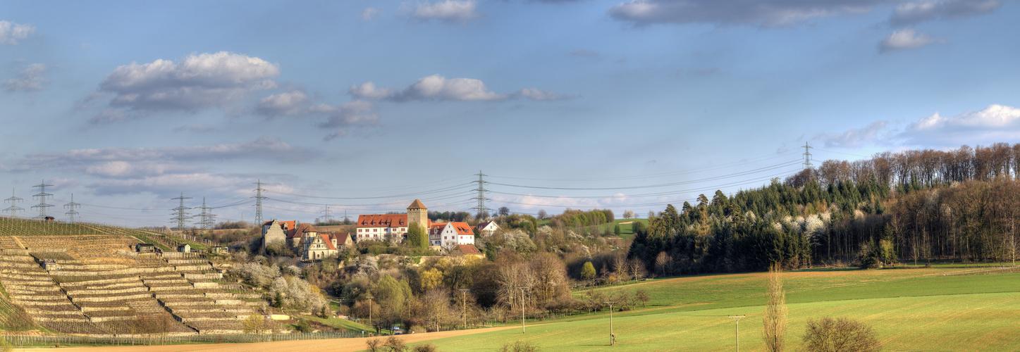 Schloss Liebenstein von Westen
