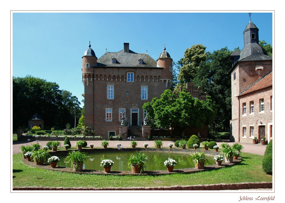 """""""Schloss Loersfeld - eine andere Ansicht"""""""