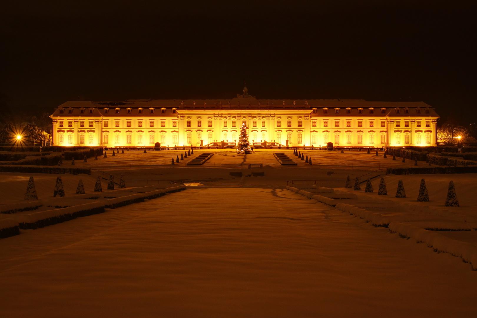 Schloss Ludwigsburg im Winter