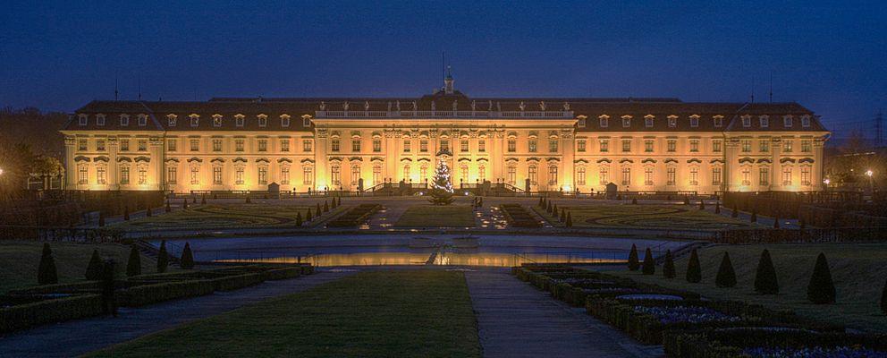 Schloss Ludwigsburg Südseite