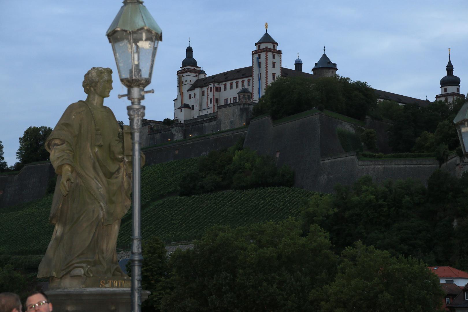Schloss Marienberg in Würzburg
