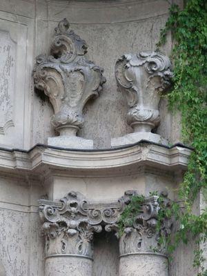 Schloß Marquardt im Detail