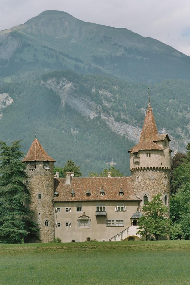 Schloss Marschlins in Igis/Landquart/CH