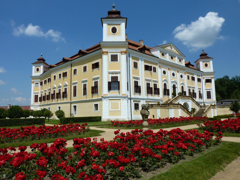 Schloss Milotice in Südmähren.