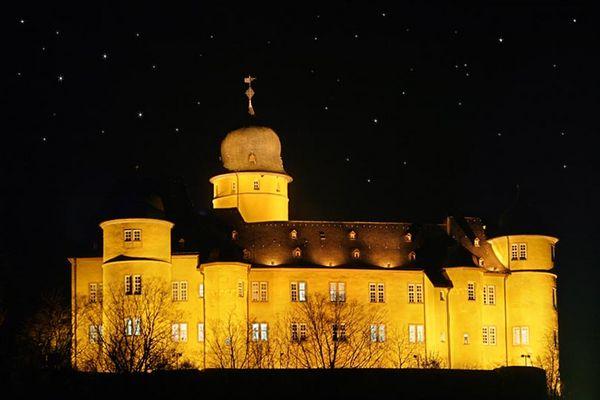 Schloss Montabaur bei Nacht