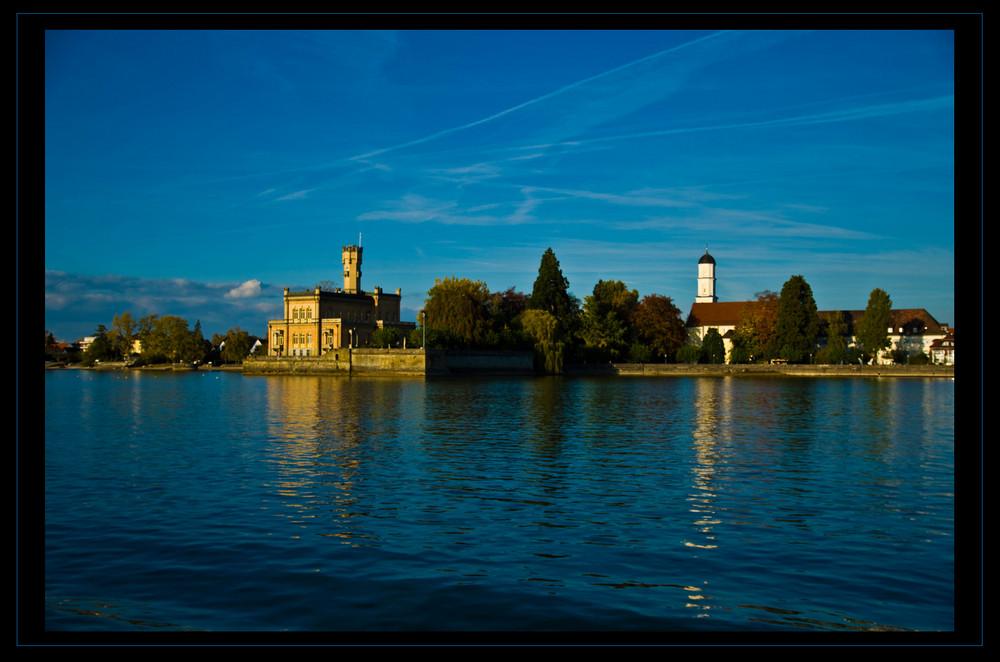 Schloss Montfort in Langenargen Bodensee...