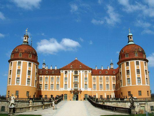 Schloss Moritzburg 1 in Sachsen > diesmal von mir