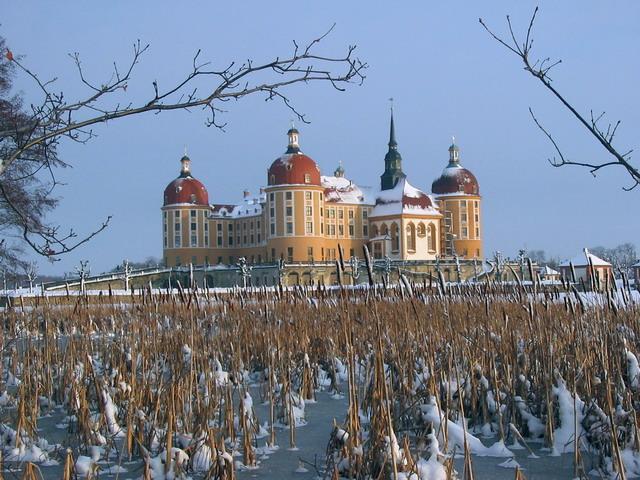 Schloß Moritzburg von vassaro
