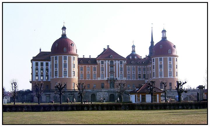 """Schloß Moritzburg"""