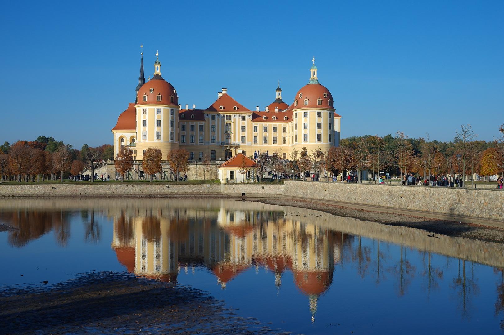 Schloß Moritzburg bei Dresden