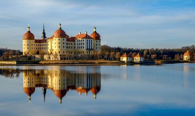 Schloss Moritzburg bei Dresden