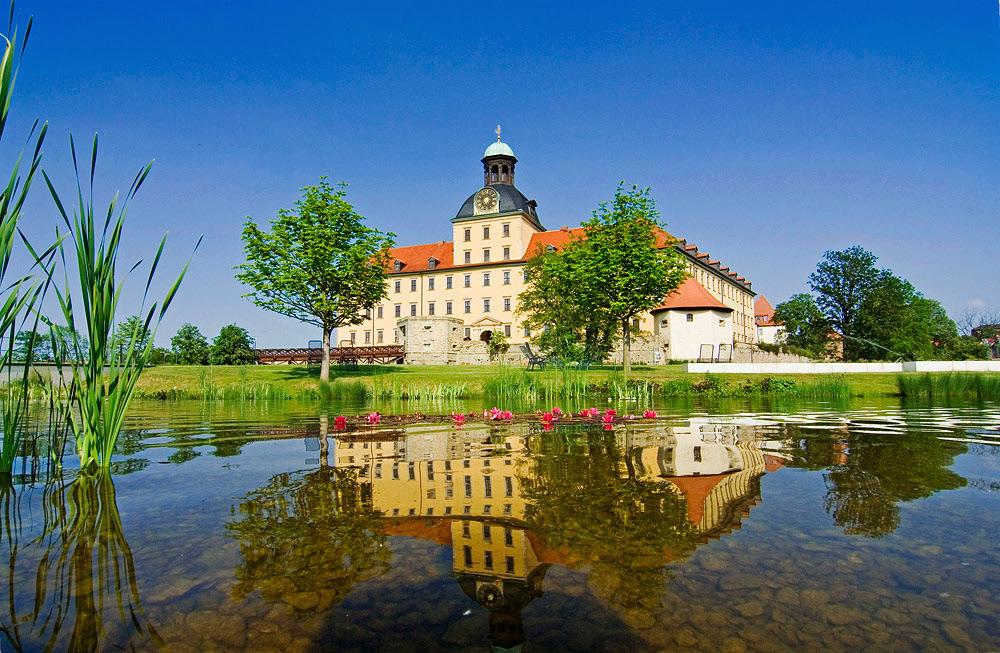 Schloss Moritzburg in Zeitz