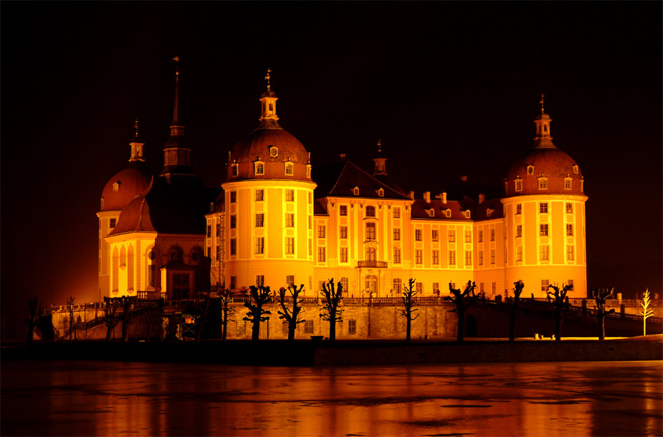 Schloss Moritzburg on Ice