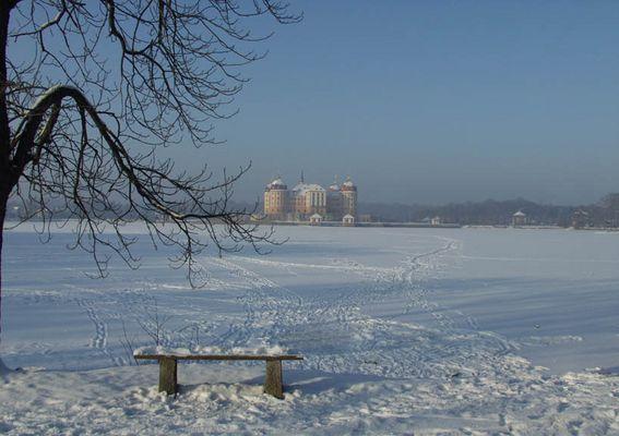 Schloß Moritzburg-Winter 02